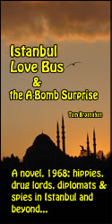 Istanbul Love Bus...the new novel by Tom Brosnahan