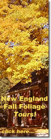 New England Fall Foliage Tours on NewEnglandTravelPlanner.com!
