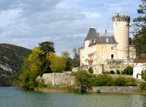 Chateau Duingt, near Annecy, France
