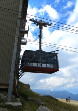 Cable car, Chamonix, France