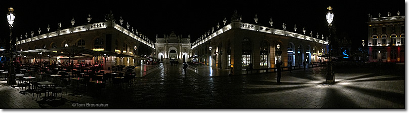 Place Stanislas at Night, Nancy, Lorraine, France