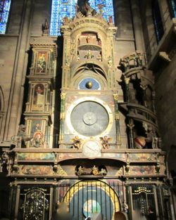 Astronomical Clock, Strasbourg Cathedral, France