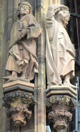 Detail Strasbourg Cathedral