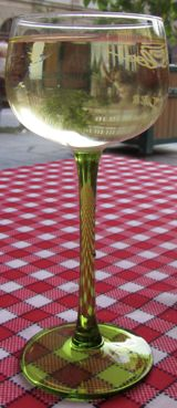 Wine glass, Strasbourg