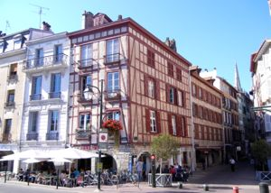 Bayonne buildings and architecture, France