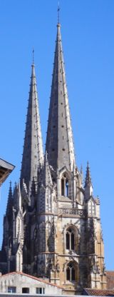Towers of Ste-Marie Cathedral, Bayonne