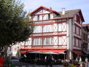 Cafe, St-Jean-de-Luz, France