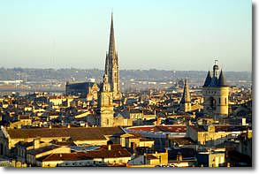 View of Basilique Saint-Michel and the Grosse Cloche, Bordeaux, France