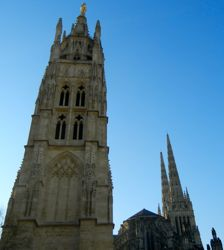 Pey-Berland Tower and Cathédrale Saint-André, Bordeaux