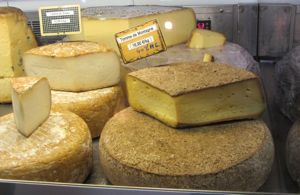 Cheese, Halles, Beaune, France