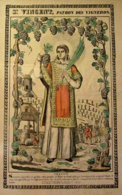 St Vincent, patron saint of wine, Dijon