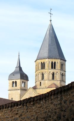 Towers, Cluny, France