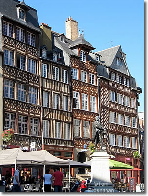 Place Sainte-Anne, Rennes, Brittany, France