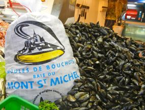 Mussels, Normandy, France