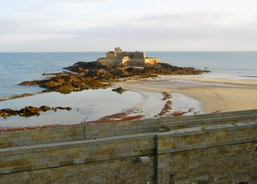 Fort National, St-Malo, Brittany, France