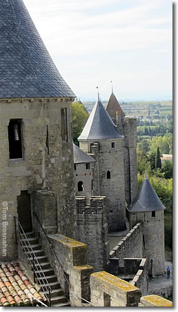 Citadelle, Carcassonne, France