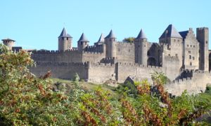 Towers of Carcassonne, France