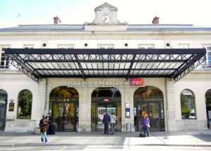 Train station, Epernay, France