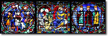Stained Glass Window, Chartres Cathedral, France