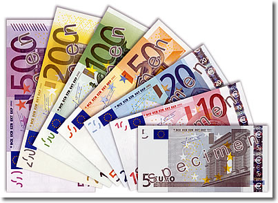 Bills Notes Are In Denominations Of 5 10 20 50 100 200 And 500 Euros