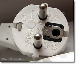 French Electrical Plug