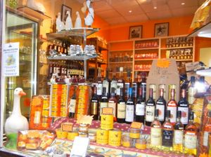 Food shop, Sarlat, France