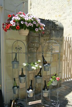 Wines for sale, Azay-le-Rideau, France