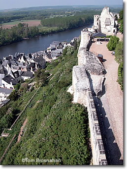 Forteresse Royale de Chinon, France