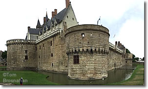 Château of the Dukes of Brittany, Nantes, France