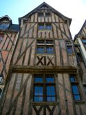 Half-timbered house, Tours, France