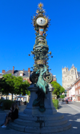 Clock tower, Amiens