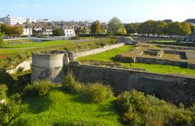 Excavations of the Keep, Château de Caen, France