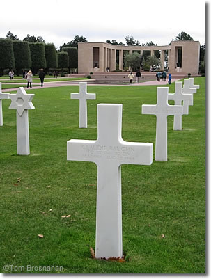Normandy American Cemetery & Memorial, Colleville-sur-Mer, Normandy, France