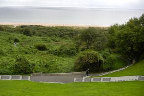 View of Omaha Beach, Normandy,France