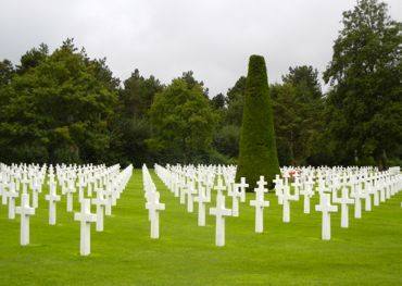 American Military Cemetery, Colleville-sur-Mer, France