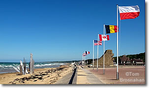 Omaha Beach, Colleville-sur-Mer, Normandy, France