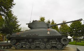 Tank, Airborne Museum, Ste-Mere-Eglise, France