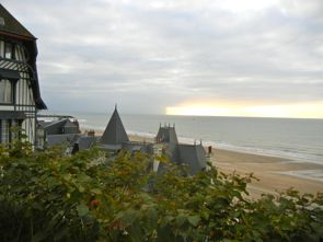 Sunset, Trouville Beach, Normandy, France
