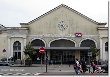 Gare de Dieppe SNCF, Dieppe, Normandy, France