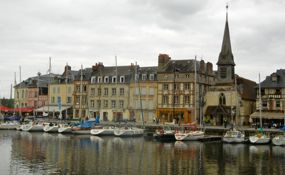 Harbor view, Honfleur, France