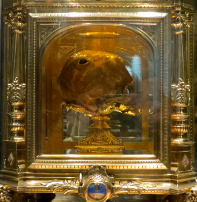 Skull of St Aubert, Avranches