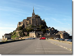 Mont St Michel 2011, before the new causeway