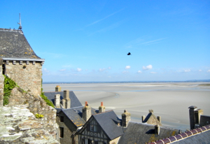 Mont St-Michel, View