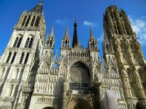 Rouen cathedral, Normandy, France