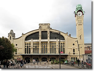 Gare de Rouen SNCF (Train Station), Rouen, Normandy, France