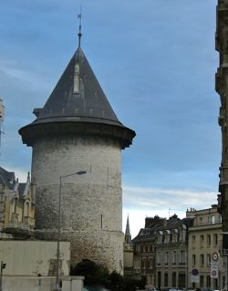 Jeanne d'Arc Tower, Rouen, France