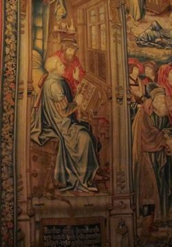 Tapestry, Chateau d'Ecouen, France