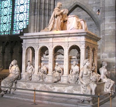 Tomb of Louis XII and Anne de Bretagne, St-Denis, France