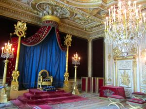 Napoleon's throne room, Fontainebleau