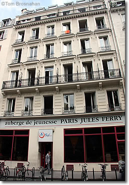 Auberge de jeunesse Jules Ferry, Paris, France